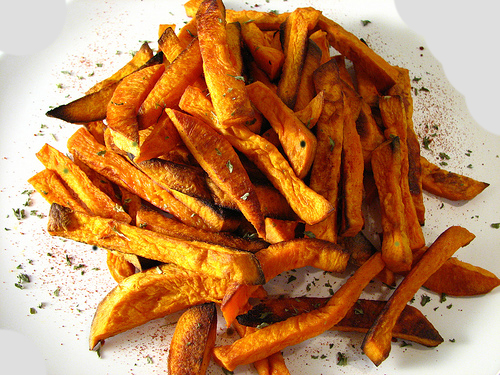 Another dish that homegaters crave is sweet potato fries. (Submitted photo)