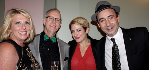 "Kimberly and Randy Sorrell (Carmel) had the opportunity to meet Lead Singer Miz Elizabeth and Bandleader Evan ""Bibs"" Palazzo of ""The Hot Sardines"" after the rockin Jazz concert on New Years Eve at the Palladium."