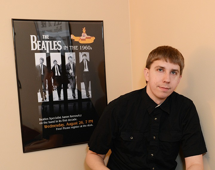 Image result for Aaron Krerowicz beatles