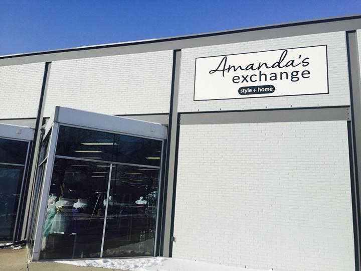 Amanda's Exchange on Carmel Drive. (Photo by Adam Aasen)
