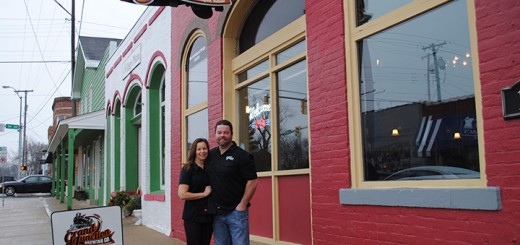 Dawn and Jon Knight own Grand Junction Brewery in downtown Westfield, one of the stops of the Bicentennial Brew Tour through Hamilton County. (Photo by Anna Skinner)