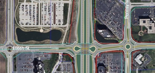 An illustration of the final U.S. 31 and 116th Street interchange configuration. (Submitted image)