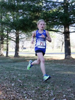 Macie Dellio won the 9 to 10 Girls group Athlete of the Year. (Submitted photos)