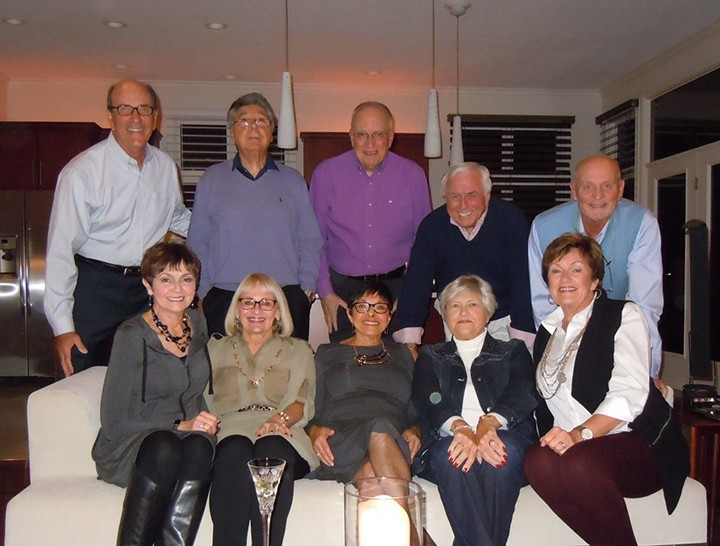 Five couples in the same Carmel neighborhood celebrated 50 years of marriage in 2015. They are, back row from left, Lynn Croxton, John Strano, Bob Dyer, Denny Glander, Jim Ditto, and front row from left, Charlean Croxton, Dottie Strano, Joanne Dyer, Barbara Glander and Jan Ditto. (submitted photo)
