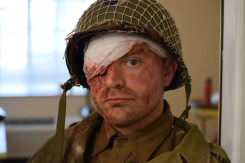 Brian Stuart Boyd, an Indiana University graduate, plays the role of the GI in Sarge. (submitted photo)
