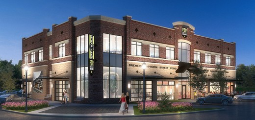 Four Day Ray Brewing will sit at the corner of North Street and Lantern Road. (Submitted rendering)