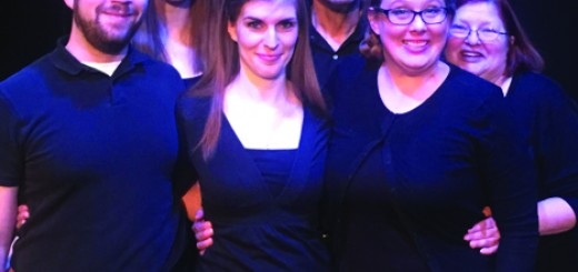 """Vince Accetturo, Lauren Leigh, Michelle Wafford, Darrin Gowan, Rebecca DeVries McConnell, Denise Fort who will perform in the Carmel Community Players; """"Forbidden Broadway: Greatest Hits Volume I."""" (Submitted photo)"""