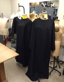 "Some of the costumes for ""Doubt,"" on stage Feb. 5-14. (Submitted photo)"