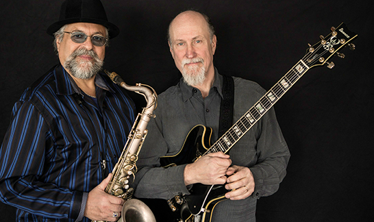 Joe Lovano, left, and John Scofield will perform in a jazz quartet on Feb. 6. (Submitted photo)