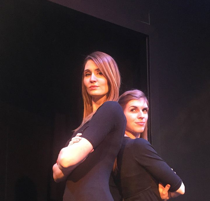 Lauren Leigh, left, and Michelle Wafford perform at a Cabaret Series for CCP. (Submitted photo)