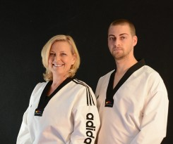 Mother and son duo Candice and Andrew White, owners of High Performance Martial Arts, will offer summer camps for ages 5 through 12. (Submitted photo)