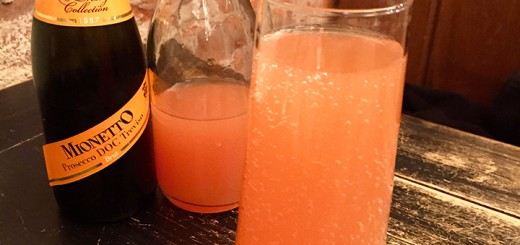 Try a different fruit for this pink mimosa. (Photo by Anna Skinner)