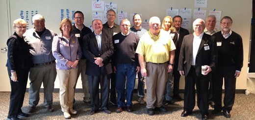 From left: Mary Sue Rowland, Noblesville; Brian Ayer, Noblesville; Megan Wiles, Noblesville; Chris Jensen, Noblesville; Greg O'Conner, Noblesville; Rich Block, Fishers; Jim Ake, Westfield; David George, Fishers; Rusty Miller, Cicero; Cindy Spoljaric, Westfield; John Krauss, moderator; Glen Bougher, Sheridan; Brad DeReamer, Fishers, Robert Horkay, Westfield (Submitted photos)
