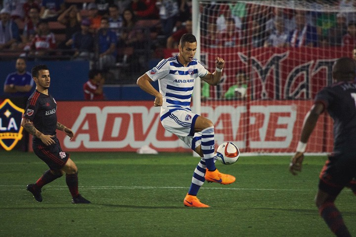 CHS grad Matt Hedges is making an impact on his MLS team, FC Dallas. (Submitted photo)