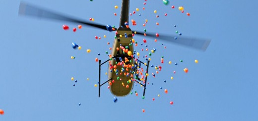The Easter eggs will be released over Grand Park by a helicopter. (Submitted photo)