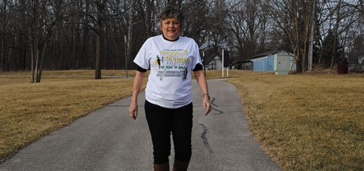 Jan Skinner, executive director of the Westfield Education Foundation, organizes the Underground Railroad Run each year. (Photo by Anna Skinner)
