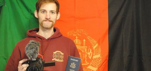 Grayson Marsh will travel to Tajikistan to film a documentary. (Photo by Anna Skinner)