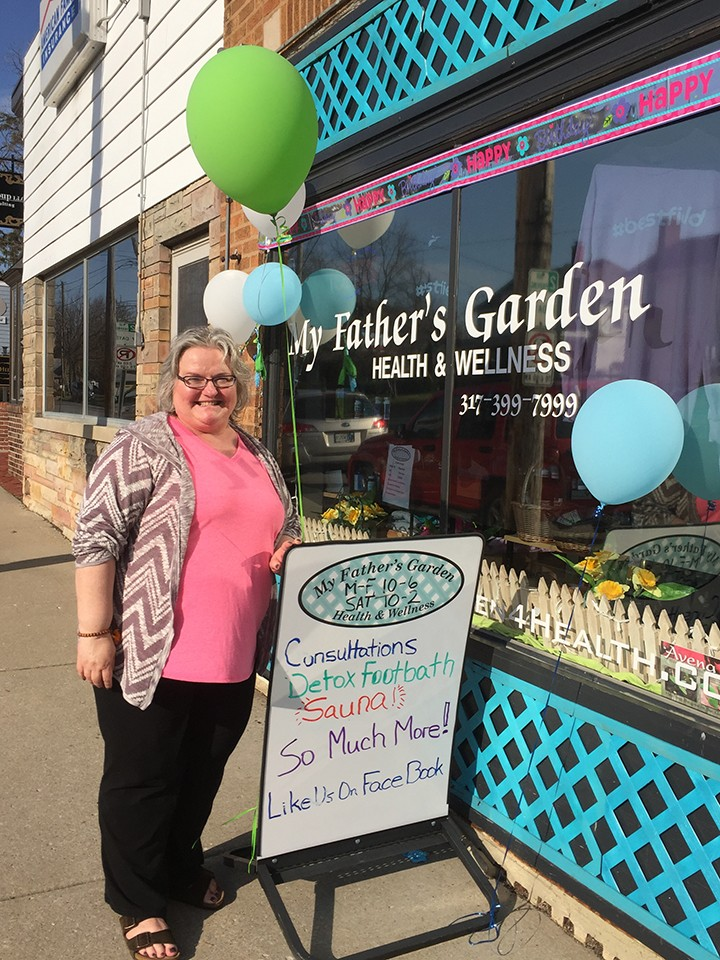 Betsy Rabold, owner of My Father's Garden, will begin yoga classes. (File photo)