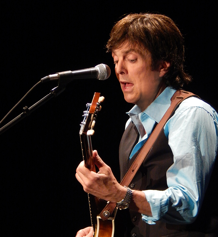 Tony Kishman as Paul McCartney. (Submitted photo)