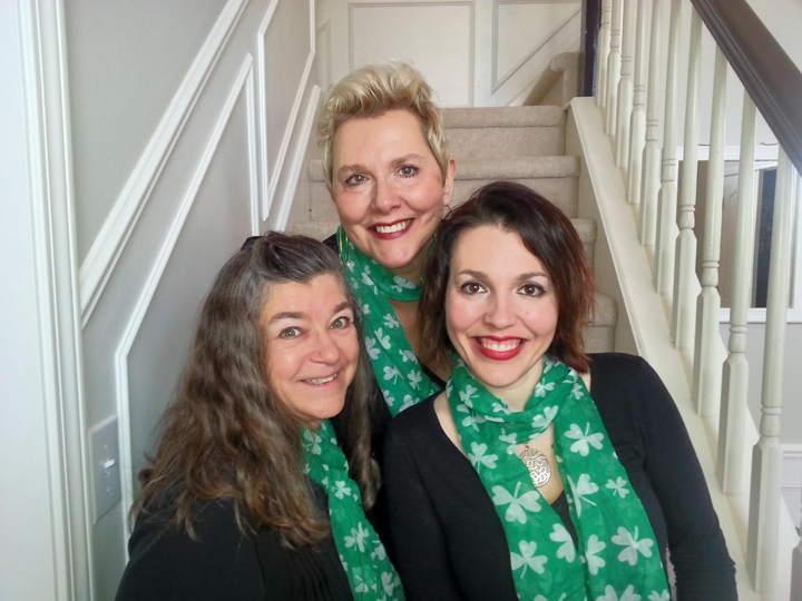 Shari Grinnell, MaryAnne Mathews, and Kate Duffy Sim. (Submitted photo)