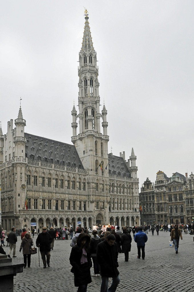 Town hall of Brussels, Belgium (Photo by Don Knebel)