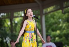 Anjali Rooney performs at the 2015 CarmelFest Has Talent. (Submitted photo)