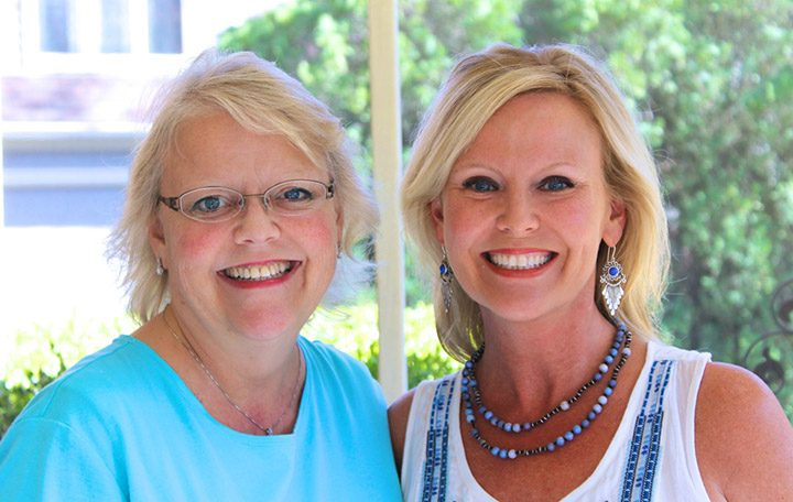 Cindy McClure, left, recently received a donated kidney from her sister, Chrissy Field. (Submitted photo)