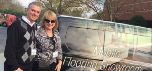 "Greg and Ann Beriault, Carmel, opened Flooring Coverings International on April 18. ""We'll come to people's homes and consult,"" Ann said. (Submitted photo)"
