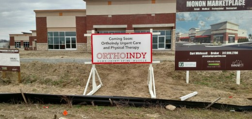 Current construction of OrthoIndy should be completed by late spring or early summer. (Submitted photo)