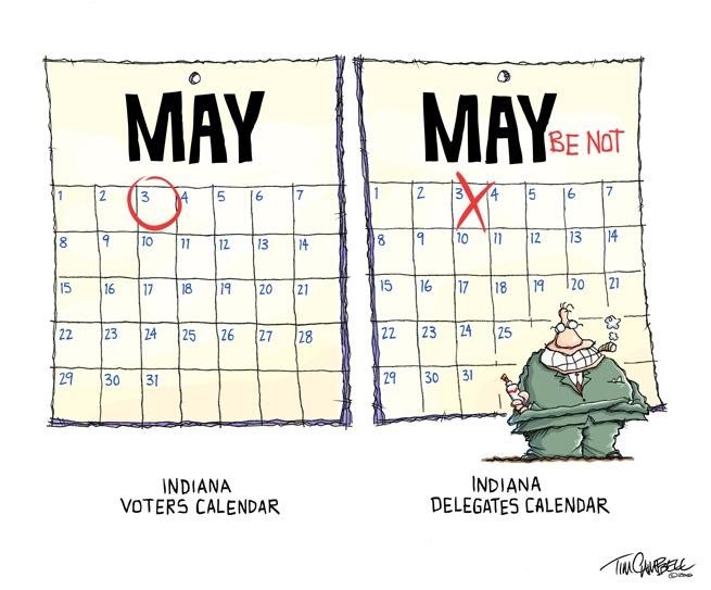 Delegates Calendar