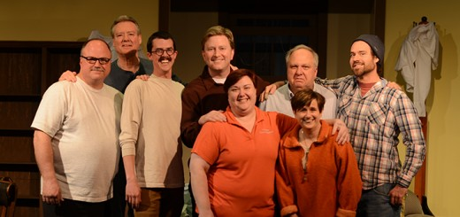 From left: Gary Wessel, Tim Latimer, Colton Martin, Dave Hoffman, Missy Rump, Michael Patton, Debbie Coon, Steve Jerk. (Submitted photo by Charles Hanover)