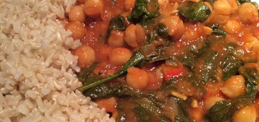 Curry Chickpea Stew is an easy to prepare, full of flavor. (Photo by Ceci Martinez)
