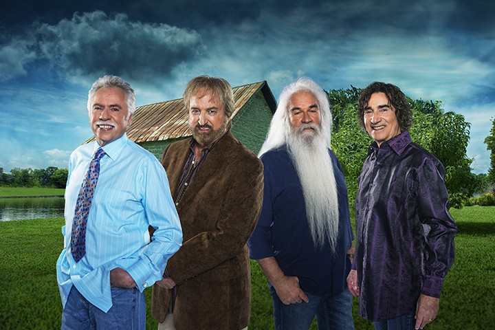 The Oak Ridge Boys will perform in Carmel on April 23. (Submitted photo)