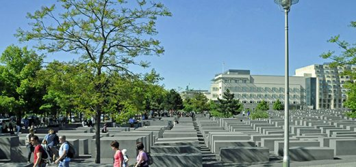 Holocaust Memorial in Berlin, Germany (Photo by Don Knebel)
