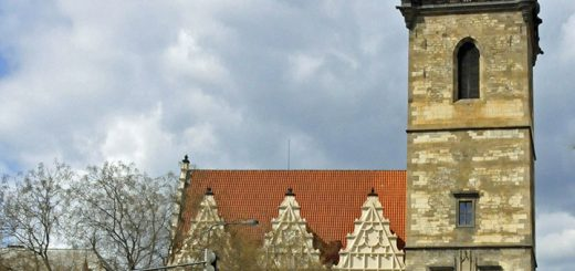 New Town Hall in Prague. (Photo by Don Knebel)