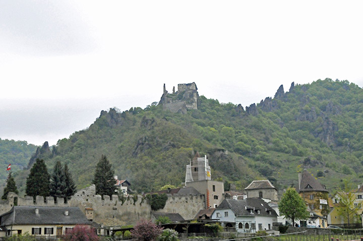 Ruins of Castle of Dürnstein, Austria (Photo by Don Knebel)