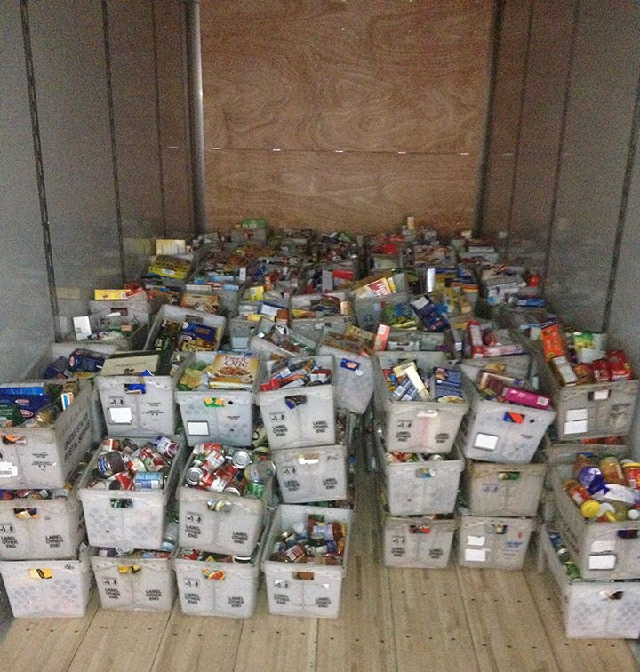 """""""Last year we collected 90,000 pounds as a branch,"""" said Ronnie Roush, Westfield resident and the NALC Branch 888 president and food drive coordinator. (FIle photo)"""