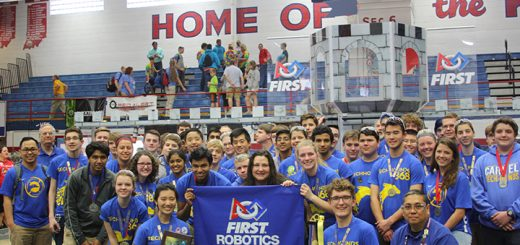 The Carmel High School TechHOUNdS received the Chairman's Award at the Indiana district Championship. (Submitted photo)