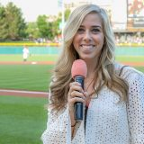 Mary Caltrider works as an emcee for the Indianapolis Indians. She is also the student body president at Carmel High School. (Submitted photo)