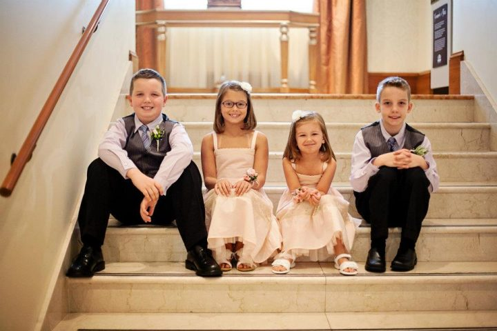 From left, Max Corby, Colleen Sullivan, Audra Sullivan and Alex Corby. (Submitted photo)
