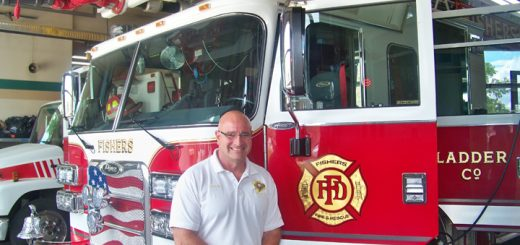 Steve Orusa has been fire chief of the Fishers Fire Dept. for the past five years.