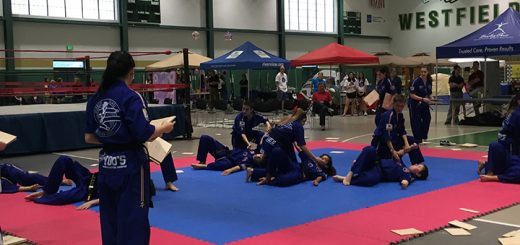 Master Yoo's World Class Tae Kwon Do performed Tae Kwon Do for relay attendees. (Photos by Anna Skinner)