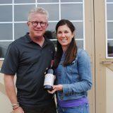 Bruce and Alison Van Natta's blackberries are used in Blackhawk Winery's blackberry wine. (Photo by Anna Skinner)