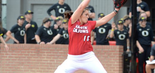 Alex Stewart is one of the top-ranked college softball pitchers nationally. (Submitted photo)