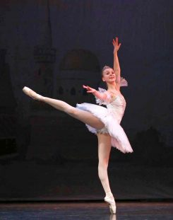 Dancer Olivia Behrmann, who will perform for the last time with the Indianapolis Ballet Conservatory on May 15. (Submitted photo)