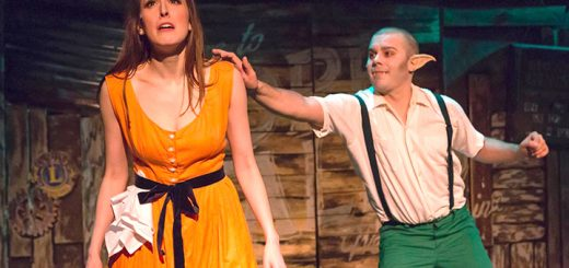 Devan Mathias (left) portrays Shelly Parker and Justin Klein plays Edgar, the Bat Boy. (Submitted photo by Zach Rosing)