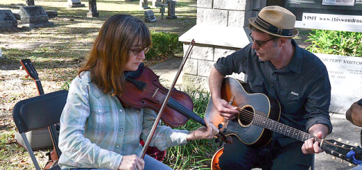Beverly Smith and John Grimm performing in Florida. Submitted photo by John Grimm