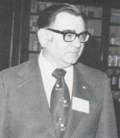 Albert Pickett served as Carmel's first mayor. (Photo courtesy of the office of the Mayor of Carmel)