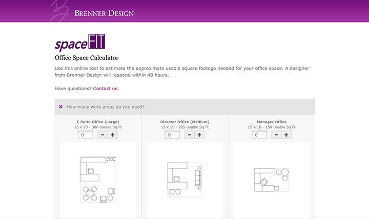 Brenner Design Unveils Office Planning Tool