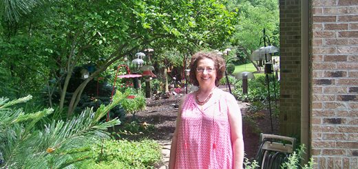 Dr. Cynthia Becker has been working on the garden and wildlife habitat behind My Dental Care since opening the current location in 1990. (Photo by Sam Elliott)